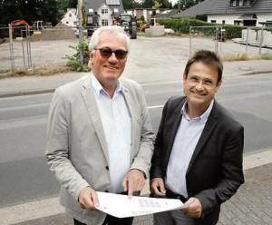 Neubau Harpstedter Straße, SEB-Steuerberatung, Franz Bahlmann und Volker Schmidt